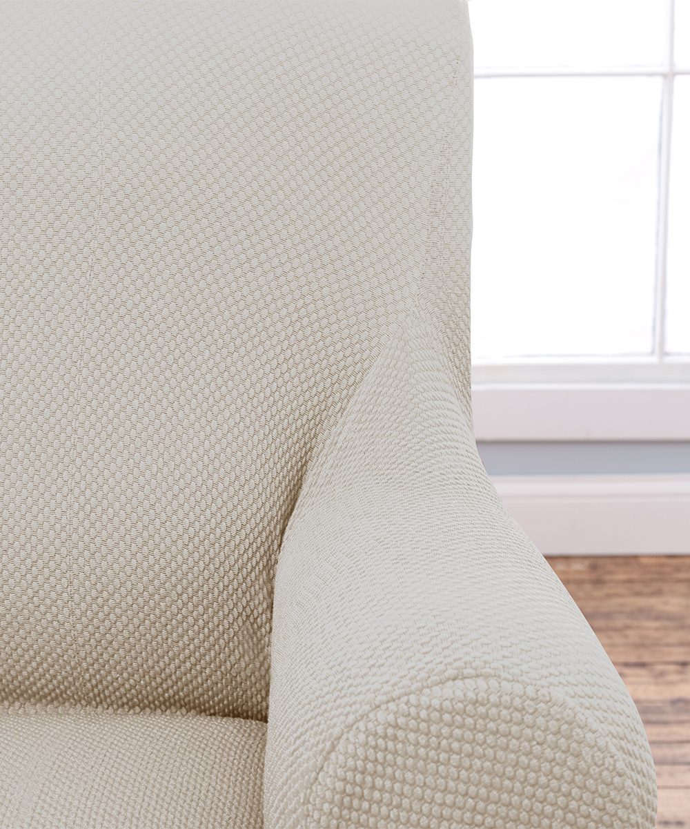 Home Fashion Distributors Ivory Savannah Popcorn Chair