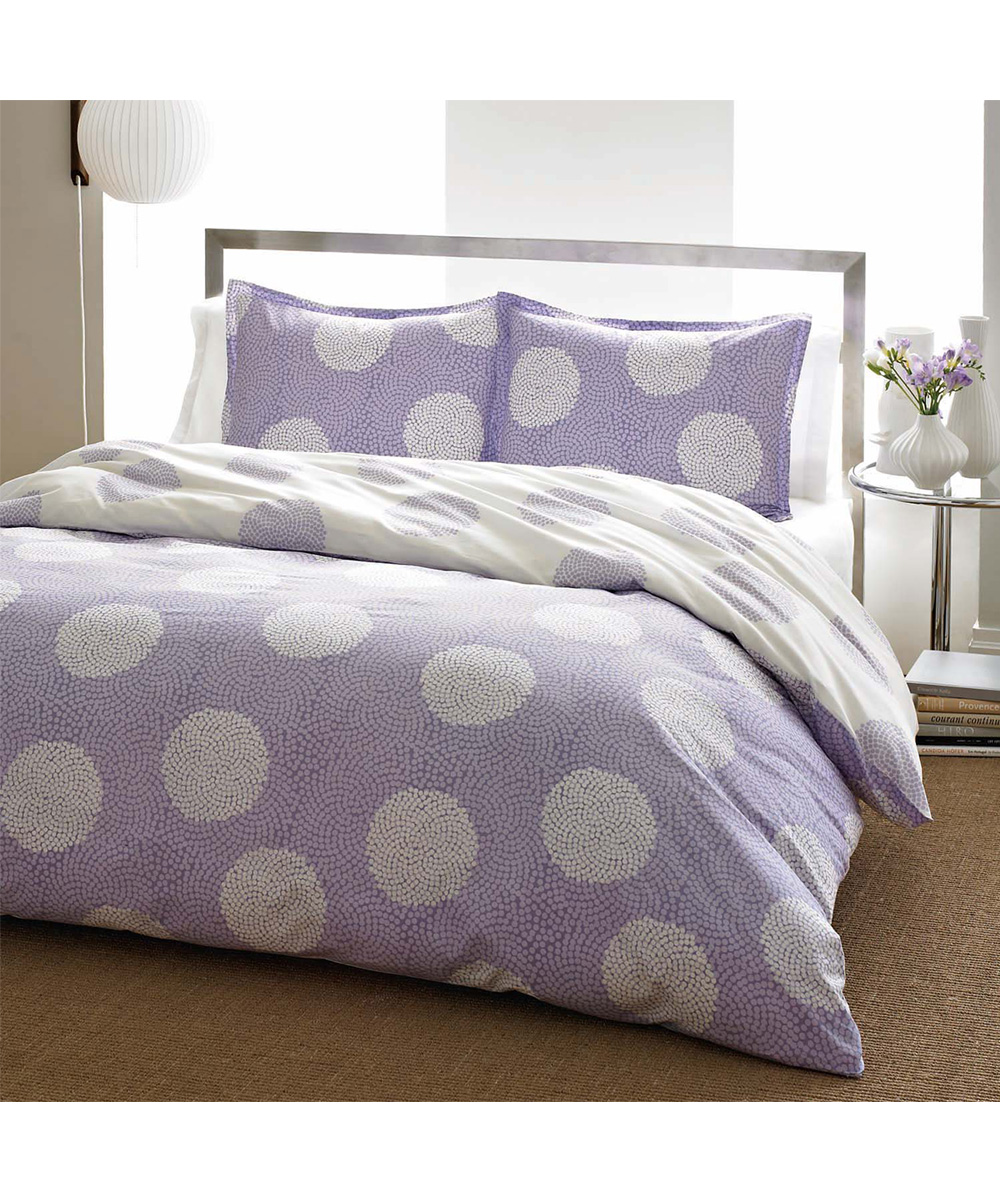 City scene light purple raindance comforter set zulily - Light purple comforter set ...