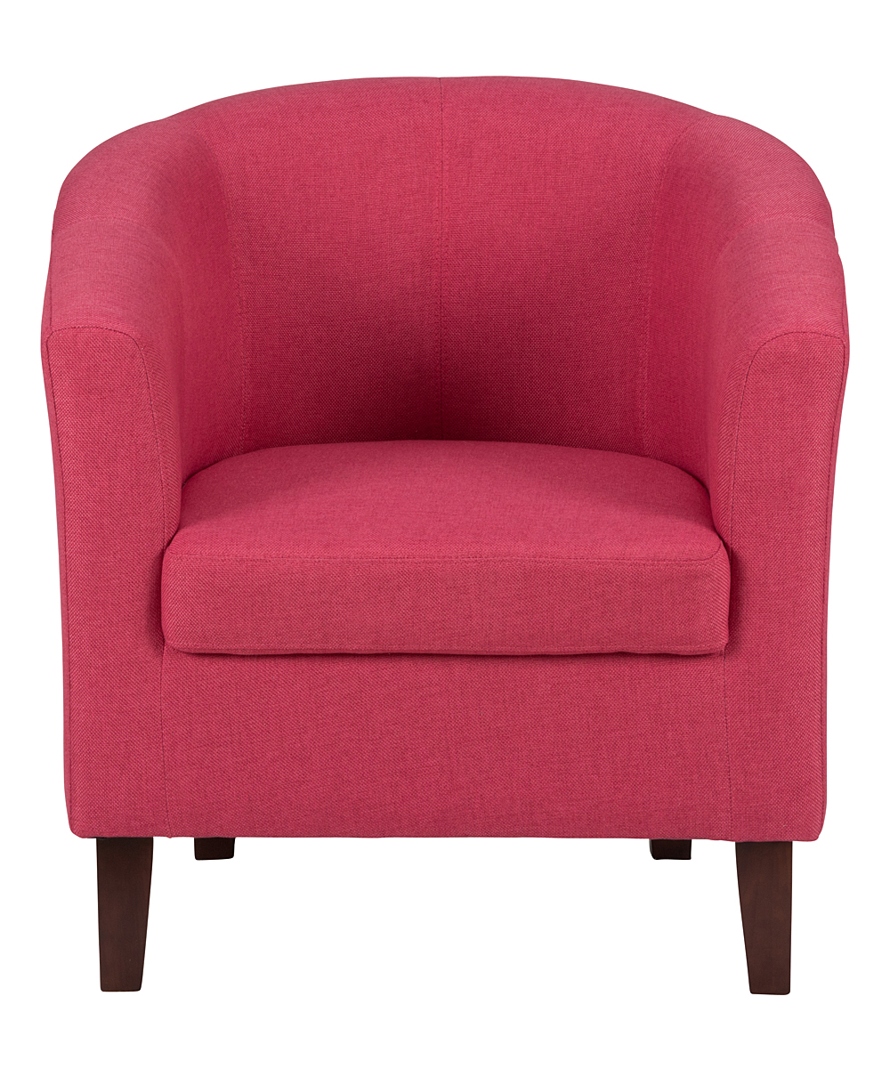 fuchsia sophie accent chair zulily
