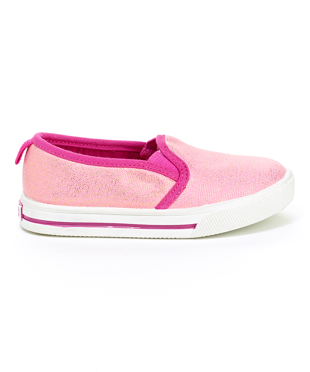 oshkosh bgosh pink sydney slip on shoe zulily