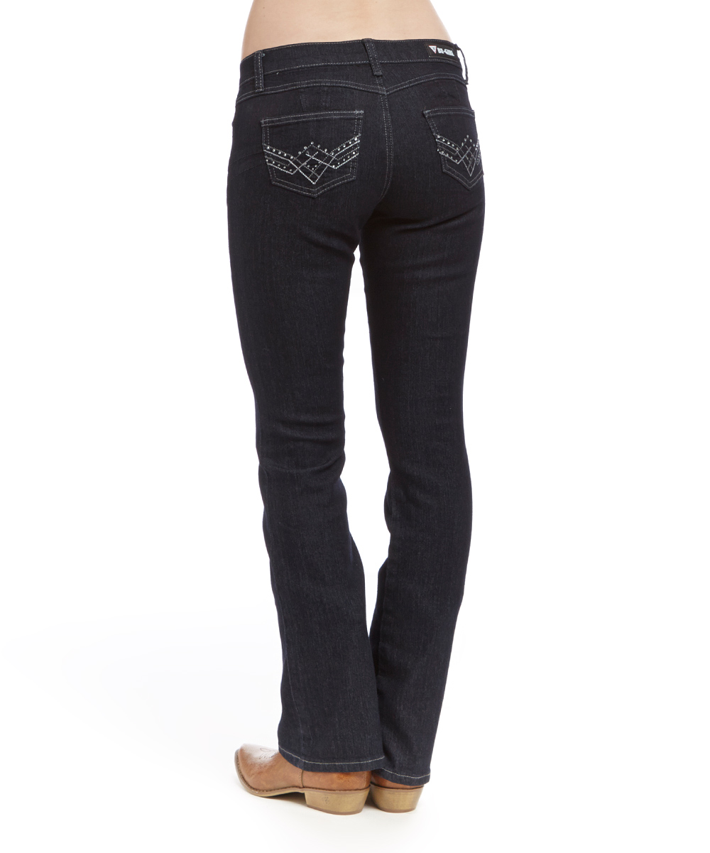 Unique Jeans Women S Black Signature Bootcut Supermodel 187 From Hudson Jeans