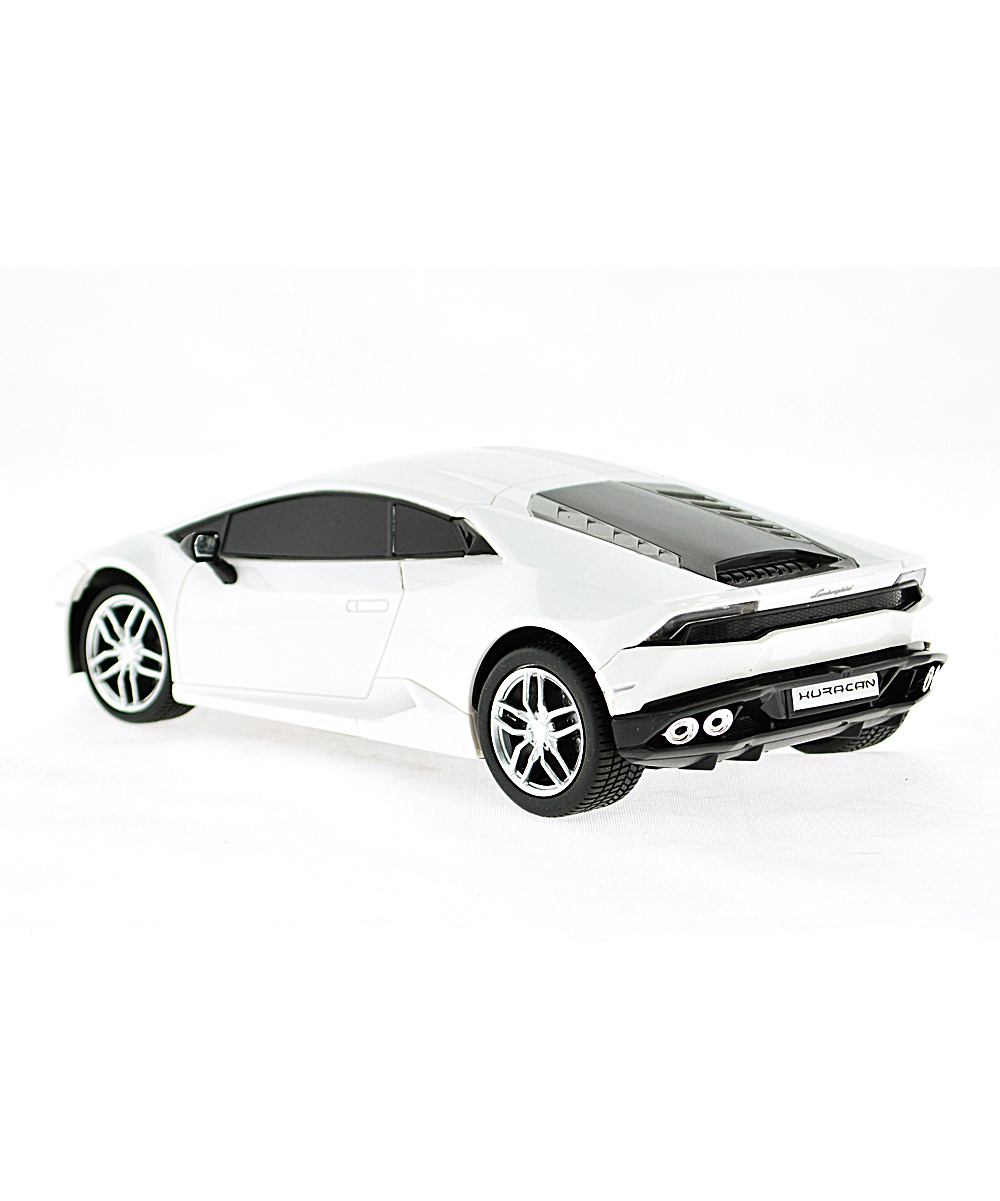 mach 10 white 1 24 remote control lamborghini huracan lp610 4 zulily. Black Bedroom Furniture Sets. Home Design Ideas