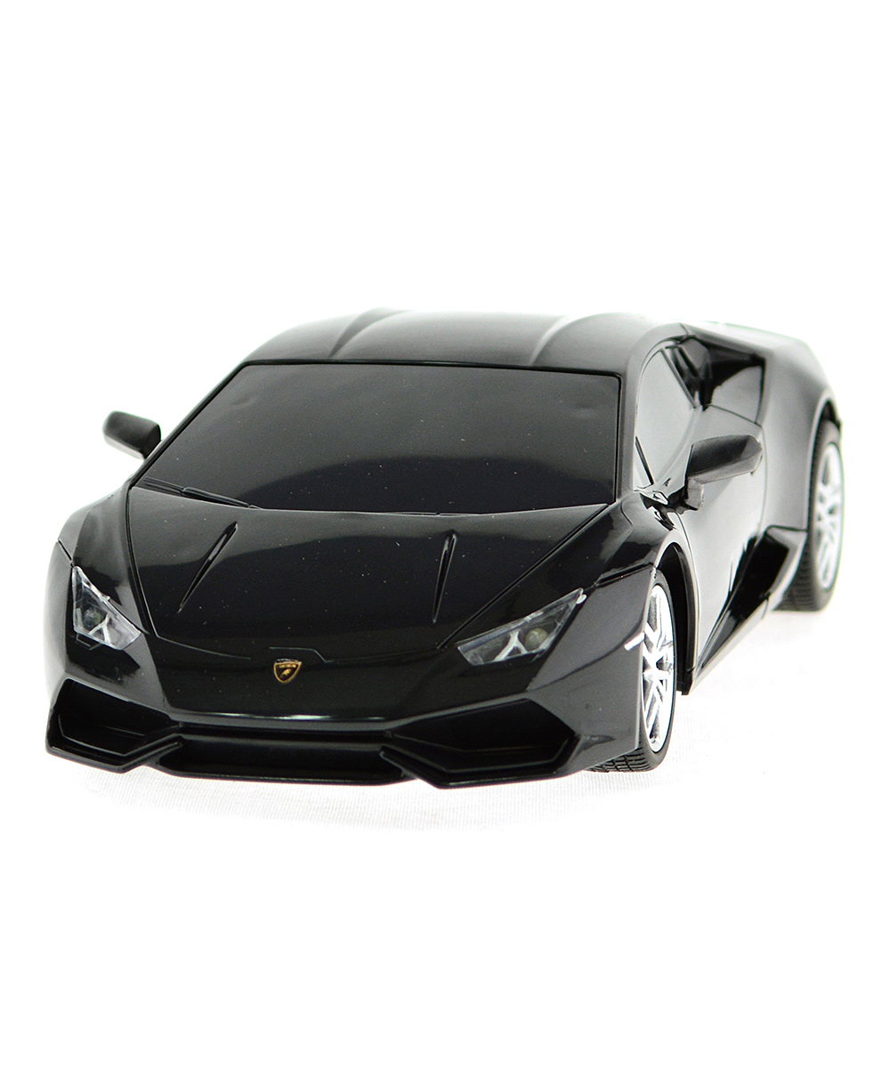 mach 10 black 1 24 remote control lamborghini huracan lp610 4 zulily. Black Bedroom Furniture Sets. Home Design Ideas