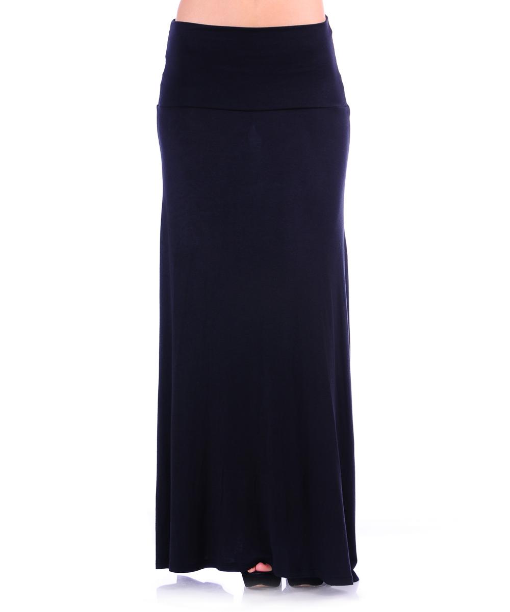 urim apparel black maxi skirt zulily
