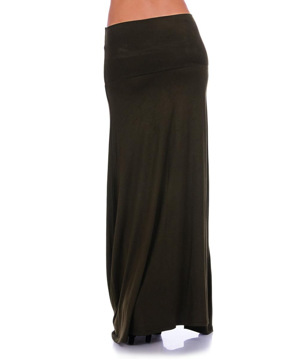 urim apparel olive maxi skirt zulily