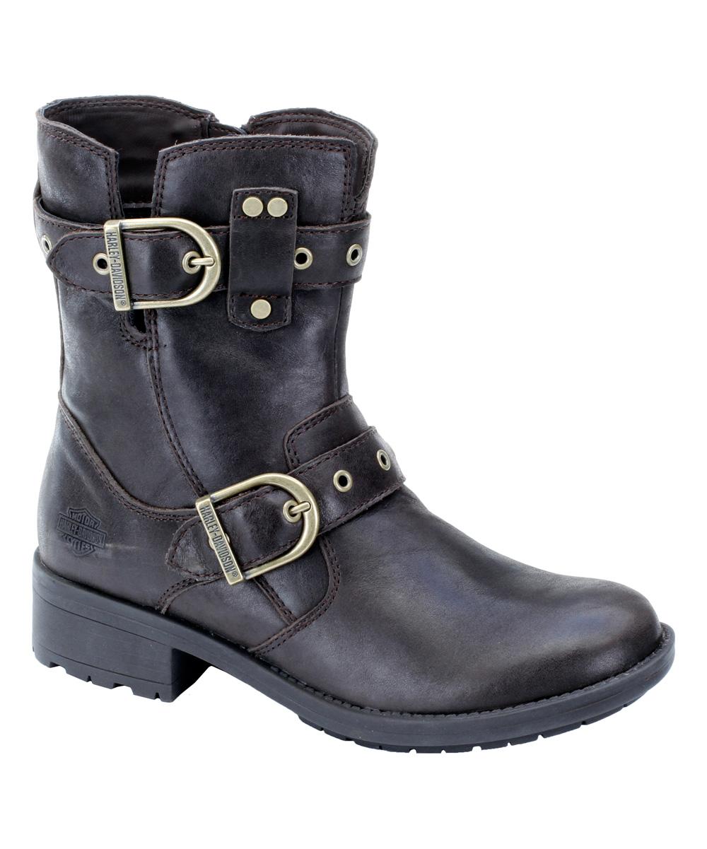 harley davidson footwear brown grace leather