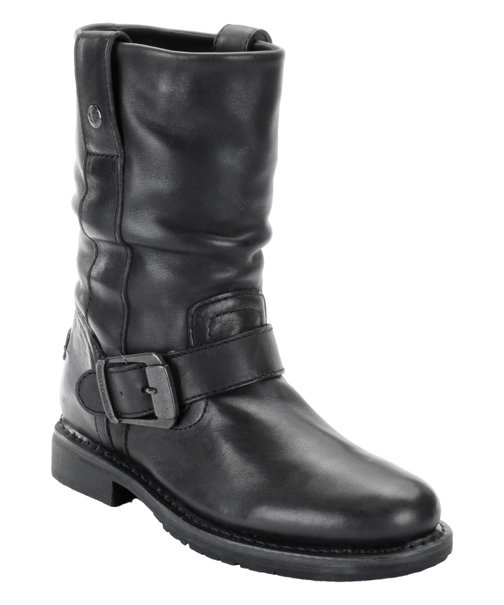 Perfect  Savannah Ladies Motorcycle Boots Women Motorbike Leather Black  EBay