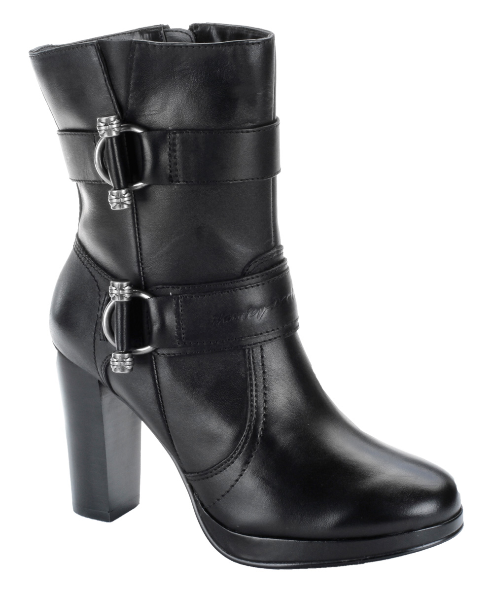 Wonderful   CHLOE BLACK BOOTS ALDO BLACK LEATHER MOTORCYCLE BOOTS WOMENS SIZE 7