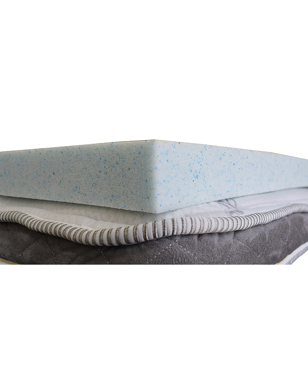 Magicpedic 2 5 Gel Memory Foam Mattress Topper Zulily