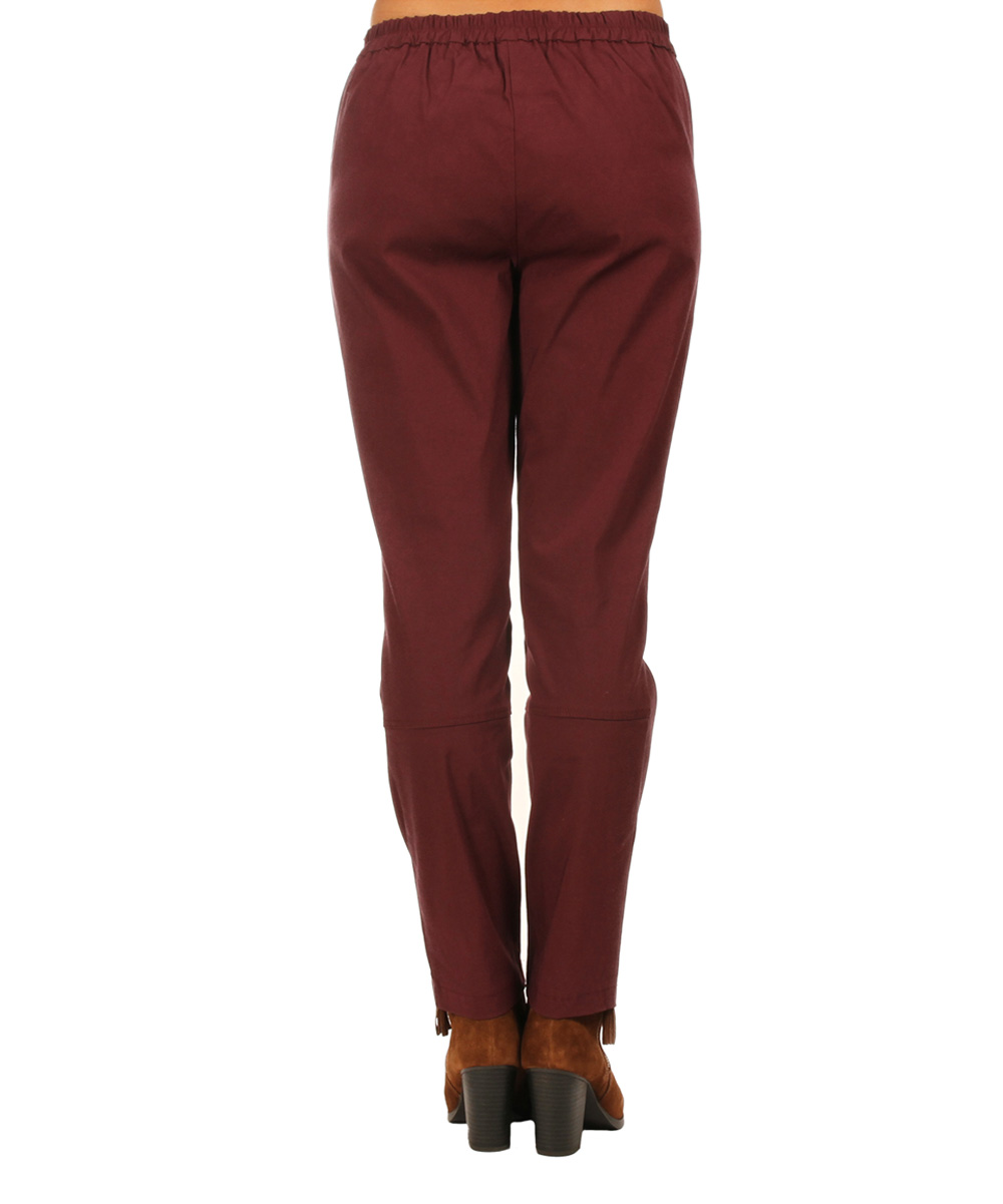 Unique Collection Pakistan Maroon Viscose Palazzo Pants For Women  RCPAPant