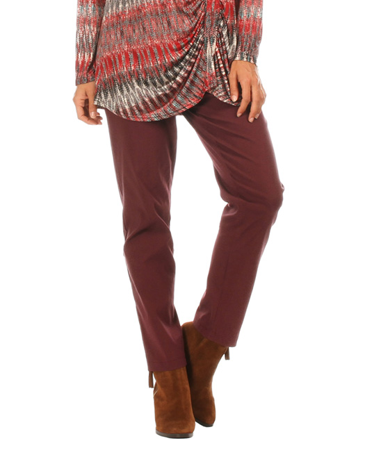 Awesome  Margiela Women39s Wool Burgundy Flat Front Dress Pants Size 2 6  EBay