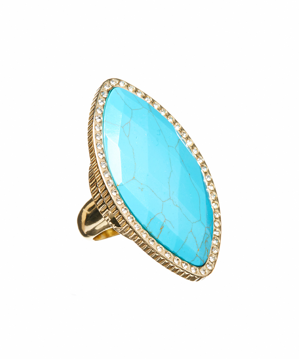 turquoise marquis grandeur cosmetic ring