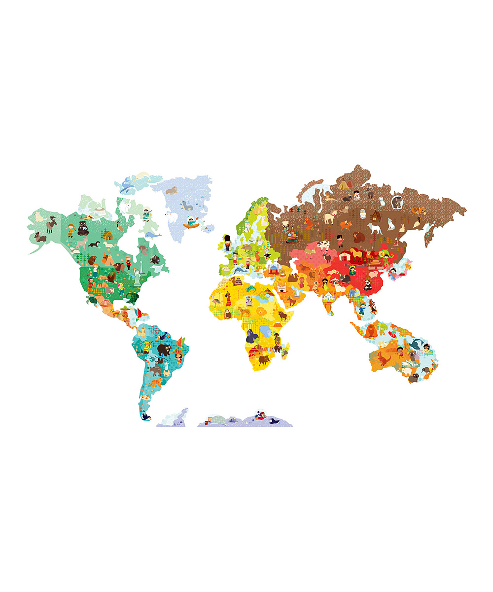 wall decals world map color the walls of your house wall decals world map janod world map wall decal zulily