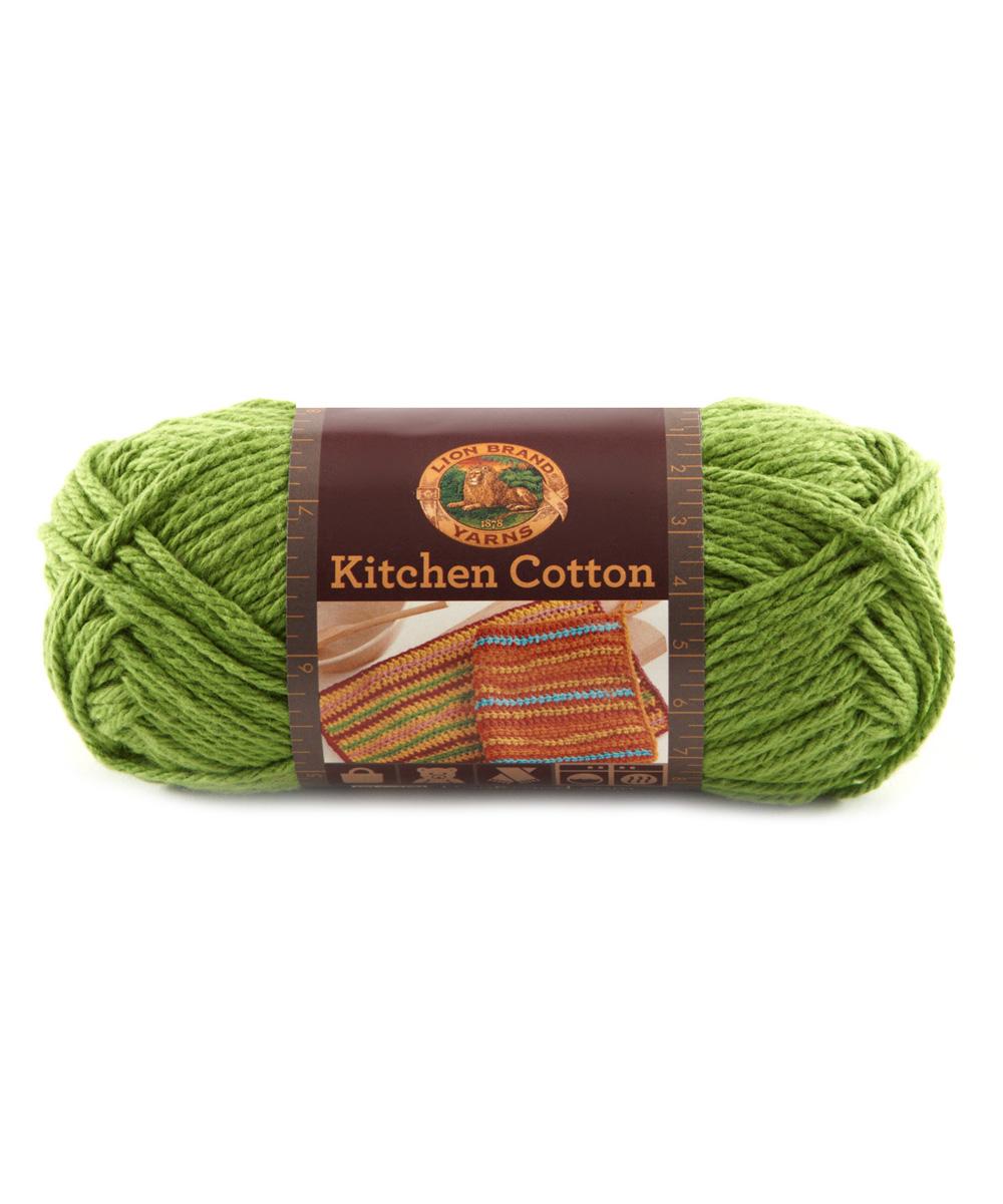 Lion Brand Snap Pea Kitchen Cotton Yarn Set Of Three Zulily