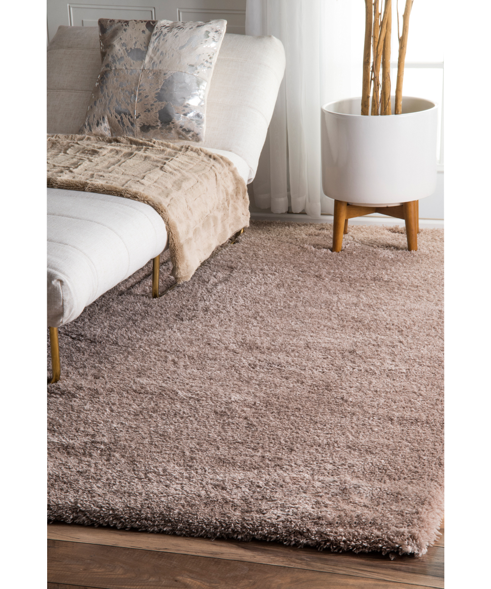 nuloom light brown gynel cloudy shag area rug zulily. Black Bedroom Furniture Sets. Home Design Ideas
