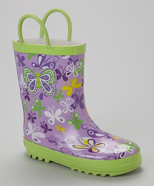 Splashy Fun Rain Boots