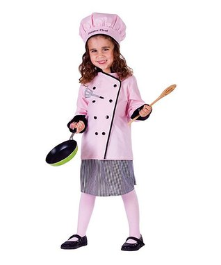 Pink Master Chef Dress-Up Set - Kids