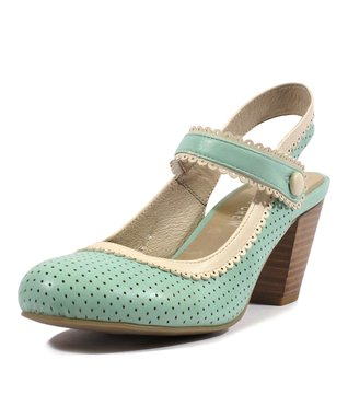 Mint & Cream Zeal Pump