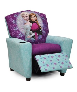 Frozen Blue & Purple Elsa & Anna Recliner