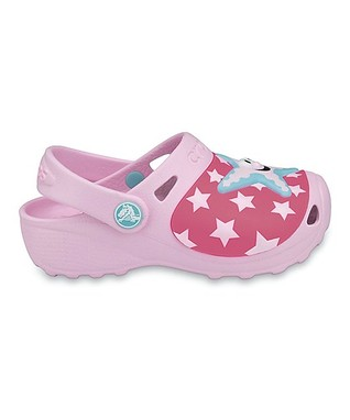 Pink Starfish Clog - Girls