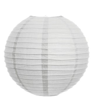 10'' White Paper Lantern - Set of Six