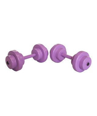 Purple SuperSoft® Bar-Bell Fitness Gear