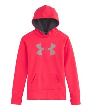 Neo Pulse Storm Armour® Fleece Big Logo Hoodie - Girls
