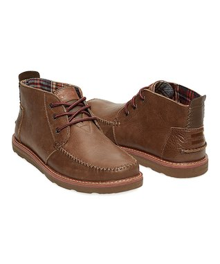 Chocolate Leather Classics Chukka Boot