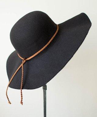 Black Boho Hat