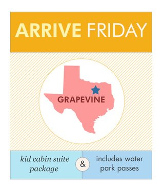 KidCabin Suite in Grapevine, TX, Friday, 10/7 to 12/18