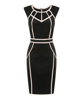 Black & Ivory Paloma Dress