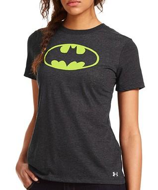 Black Alter Ego Batgirl Tee