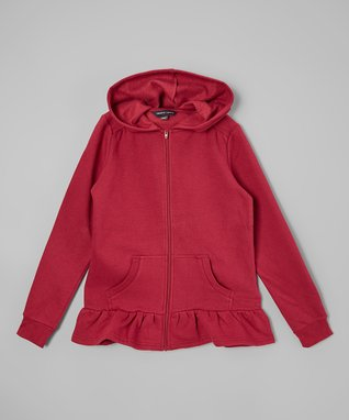 1e7abe7a6 Women clothing stores. Dark red zip up hoodie