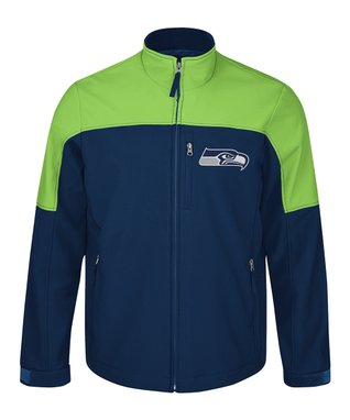 Seattle Seahawks Completion Zip-Up Jacket - Men's Regular