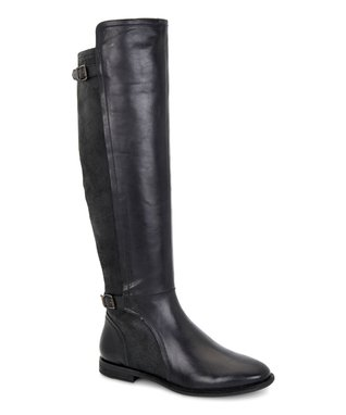 UGG® Black Danae Leather Boot