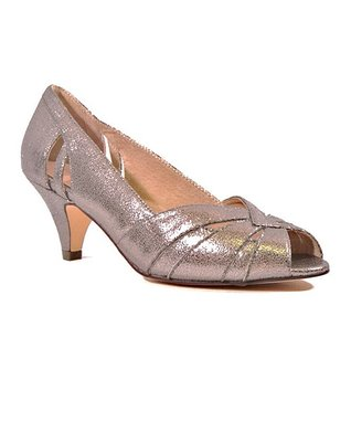 Pewter Evelyn Pump