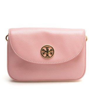 Rose Sachet Robinson Leather Crossbody Bag