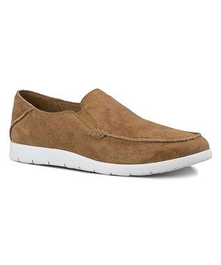 Chestnut Colston Suede Loafer