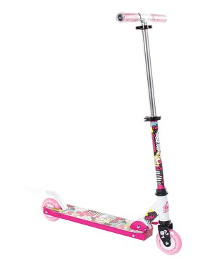Light Pink Barbie Folding Scooter