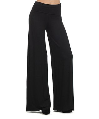 Pretty Young Thing Black Palazzo Pants