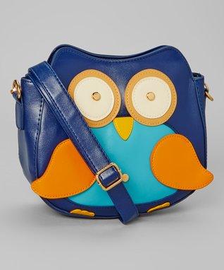 Blue Owl Crossbody Bag