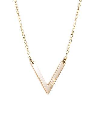 Gold 'Balance' Pendant Necklace