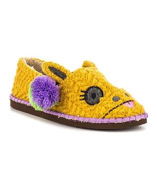 TigerBear Republik Yellow Girwaffle Beastie Slip-On Shoe