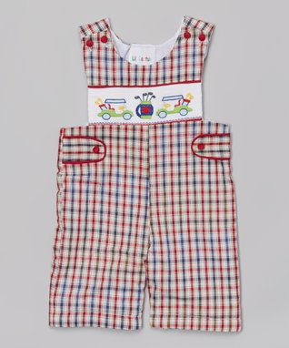 Blue Bow Romper - Infant