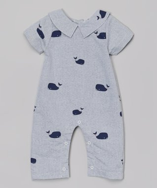 Gray Whale Playsuit - Infant & Toddler