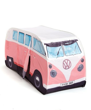 Pink VW Camper Pop-Up Play Tent
