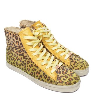 KIM & ZOZI Black Jagger Mid-Top Sneaker