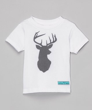 White Deer Tee - Infant, Toddler & Girls