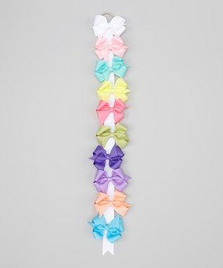 Pastel 3'' Bow Clip Set
