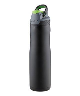 Matte Black Brazos Stainless Steel 24-Oz. Water Bottle
